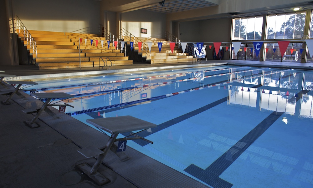 SRJC Indoor Pool